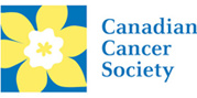 Image of Canadian Cancer Society logo.