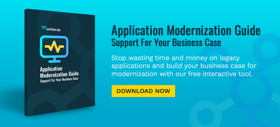 Stop wasting time and money on legacy applications and build your business case for modernization with our free interactive tool.