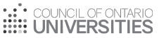 Council of Ontario Universities logo